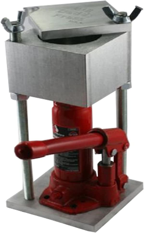 Hydraulic Press Built From Aircraft Aluminum - Made in USA (2-Ton / 4,000 Lbs Big Daddy)
