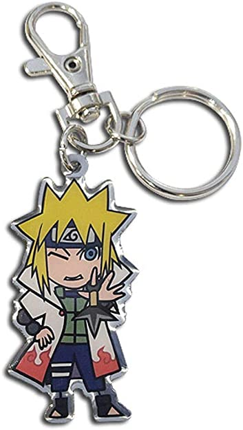 Naruto Shippuden Kakashi SD PVC Key Chain Anime Licensed NEW