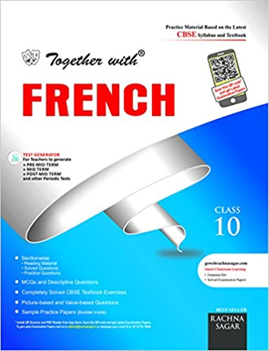 Together with cbse practice materialsample papers sectionwise for together with cbse practice materialsample papers sectionwise for class 10 french for 2018 exam old edition amazon rachna sagar private limited books fandeluxe Choice Image