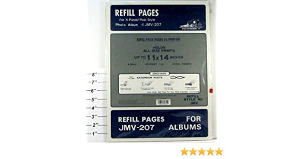 Amazoncom Pioneer Refill Pages For Jmv 207 Albums For X Pando