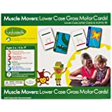 Fundanoodle Muscle Movers Lower Case Letter Cards and Activity Kit, Ages 5-6/K to First Grade (15282)