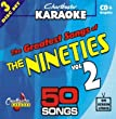 Chartbuster Karaoke CDG CB5038 The Greatest Songs of the Nineties Vol. 2