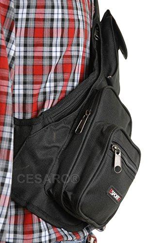 Crossbag Brusttasche Reisetasche Sporttasche Urlaub Sport Bag Tasche 0429
