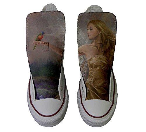 Converse PERSONALIZZATE All Star Hi Canvas, Sneaker Uomo/Donna (prodotto Artigianale) Fata style