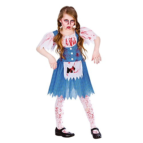 Zombie Country Girl Fancy Dress Up Party Role Play Halloween Costume New