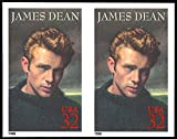 Scott #3082a, 32c James Dean Imperforate Pair Major Error Stamp XF NH
