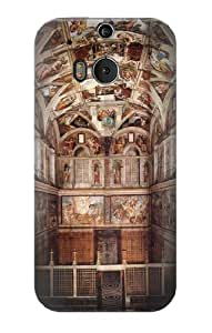 S0178 Michelangelo Sistine Chapel Case Cover for HTC ONE M8