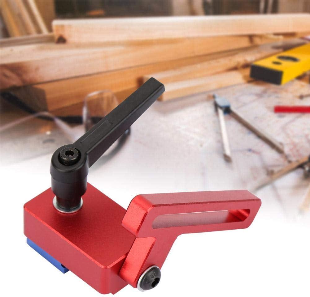 30 Typ Rutschen T-Schienen Holzbearbeitung Gehrung Spurstopper Rutschenstopper T-Slot Gehrungsstopper Stopper