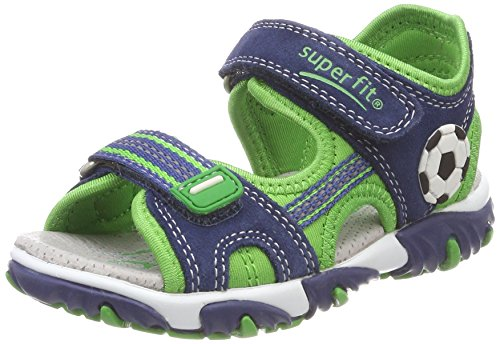 Superfit Jungen Mike 2 Sandalen Blau (Water Kombi)