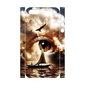 3D Cloud Series, IPhone 5,5S Cases, Eyes Cloud Ship Cases for IPhone 5,5S [White] by waniwa