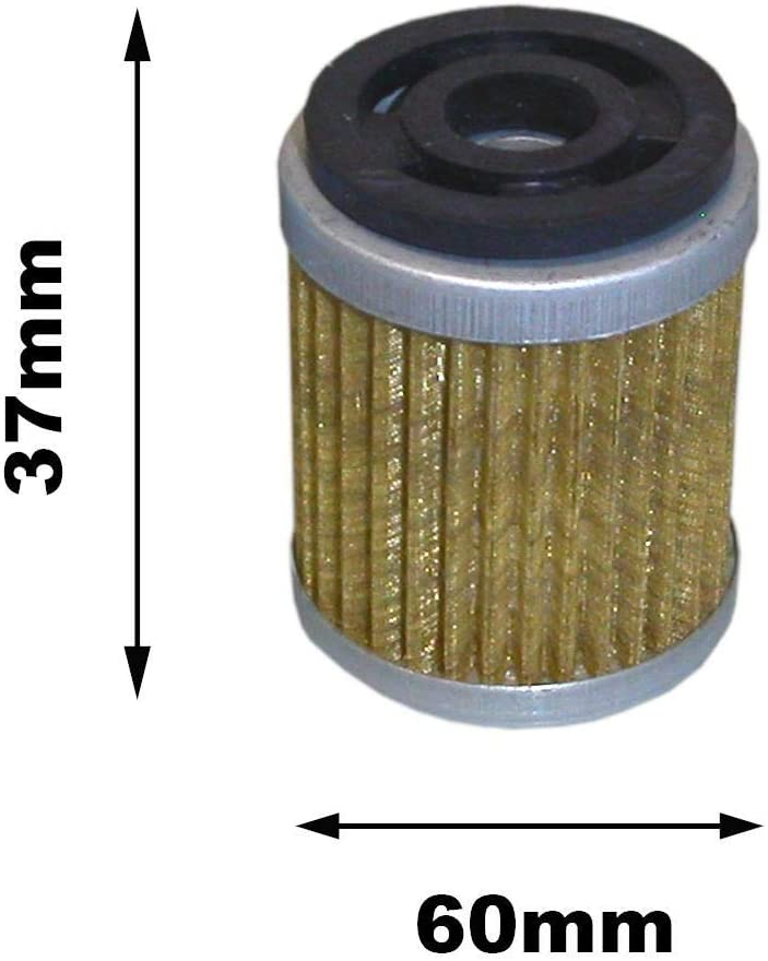 Partie compatible Yamaha XT 350 Trail Filtre a lhuile 1985-2000