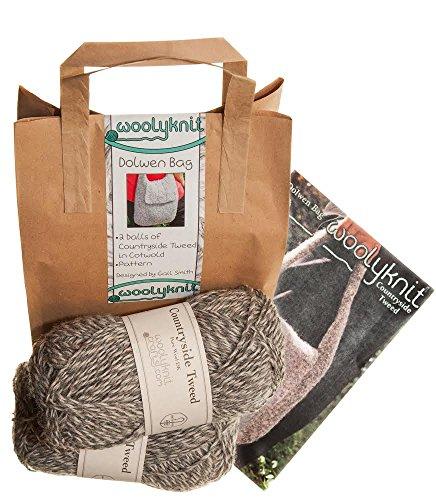 Dolwen Bag Handtaschen-Strickset, inkl. Wolle und Strickmuster