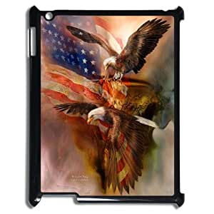 Bald Eagle on US American Flag For Ipad 2/3/4 Case GHLR-T378430