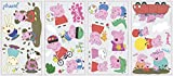 Tools & Hardware : RoomMates RMK3183SCS Peppa The Pig Peel And Stick Wall Decals ,Multi color