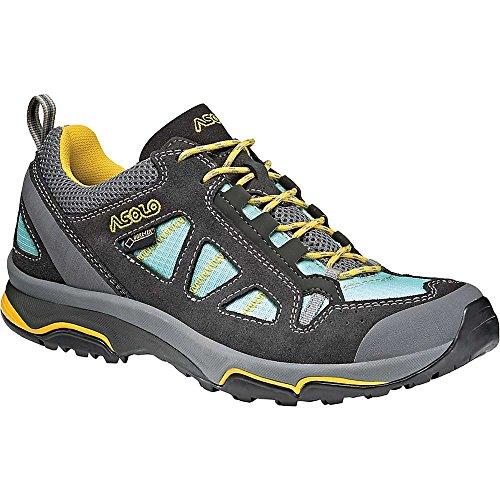 Asolo Women's Megaton GV Hiking Shoes Graphite/Poolside - 7.5