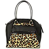 Petote Leopard Haylee Luxury Dog Bag