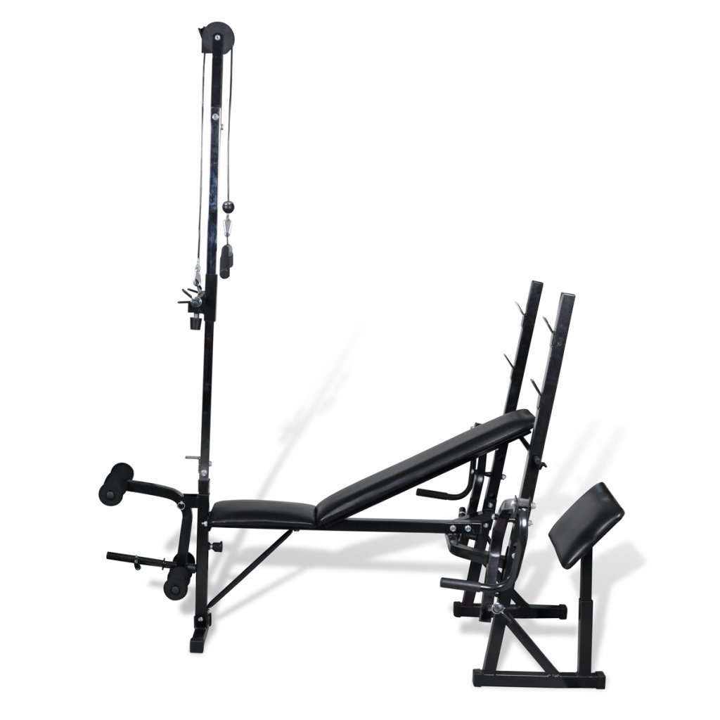 Anself Multifunction Weight Bench for Home Fitness Gym