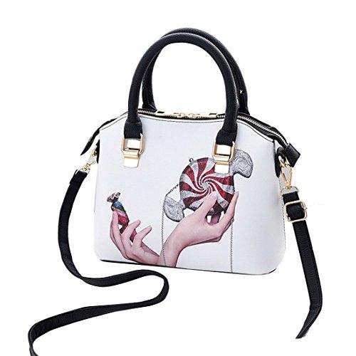 Grand Classique à mode de mode main Multicolore5 sac bandoulière Peinture Dunland dames à Femme sac pour 6070Sq