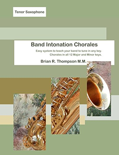 Read Online Tenor Sax, Band Intonation Chorales pdf