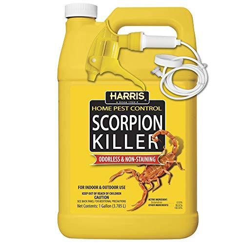 Harris Scorpion Killer, Liquid Spray with Odorless and Non-Staining Formula (Gallon)