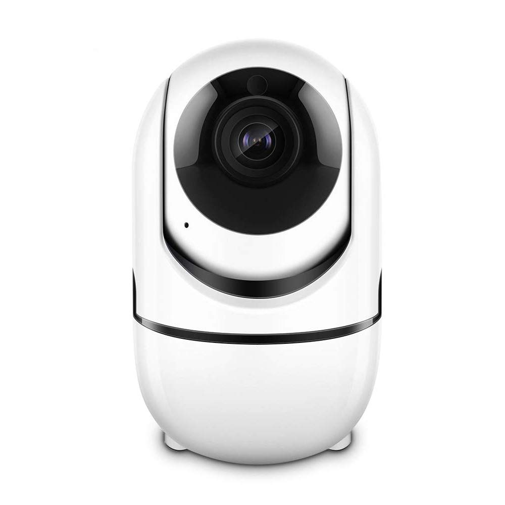CACAGOO Video Baby Monitor with Camera and Audio, 2.4Ghz Security Wifi Camera, Home IP Camera with Night Vision/Motion Detection, Remote Monitor with iOS, Android App - Cloud Service Available
