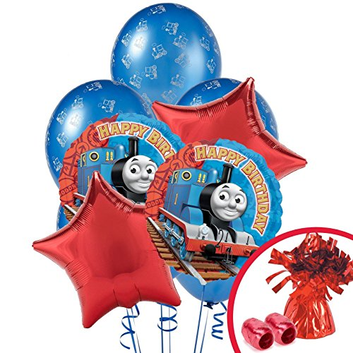 Thomas The Train Happy Birthday Balloon Bouquet ()