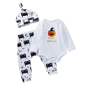 Cute Newborn Baby Boy Girl Clothes Romper Jumpsuit Pants Trousers Hat Outfit Set