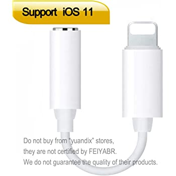 Amazon.com: Apple Lightning to 3.5mm Headphone Jack