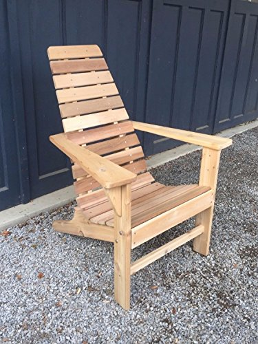 Au0026L Furniture Amish Made Cedar Outdoor New Hope Patio Lounge Chair,  Unfinished