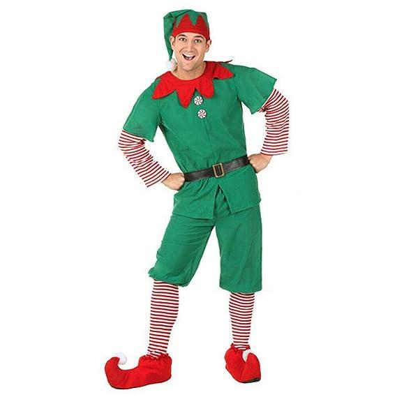 Angel ZYJ Disfraz Elfo Navidad Niñas Niños Adulto 90-180cm ...