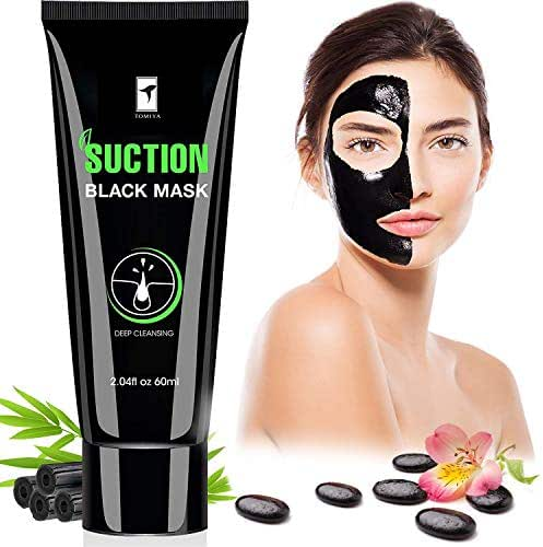Piero Lorenzo Blackhead Remover Mask, Blackhead Peel Off Mask, Face Mask, Bamboo Activated Charcoal Peel-Off Mask Blackhead Mask, Black Mask Deep Cleaning Facial Mask for Face Nose 60gram BM