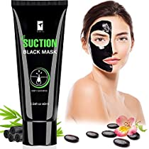 Piero Lorenzo Blackhead Remover Mask,Blackhead Peel Off Mask, Face Mask, Blackhead Mask, Black Mask Deep Cleaning Facial Mask for Face Nose 60g BM