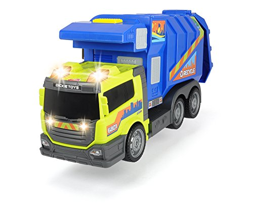 Waste Management Garbage Truck (Dickie Toys Large Action Garbage Collector)