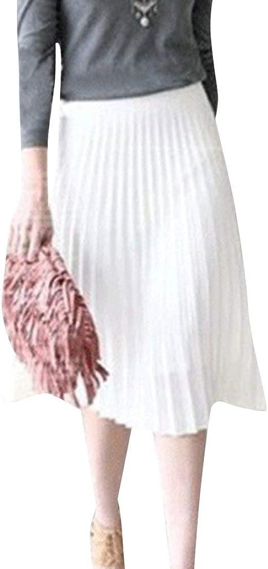 Falda De Las Señoras Falda Plisada Faldas Ligeras De Mode De Marca ...