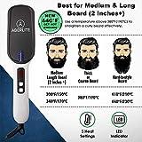 (Upgraded) Aberlite MAX - Beard Straightener for