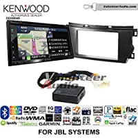 Volunteer Audio Kenwood Excelon DNX694S Double Din Radio Install Kit with GPS Navigation System Android Auto Apple CarPlay Fits 2011-2012 Toyota Avalon with Amplified System