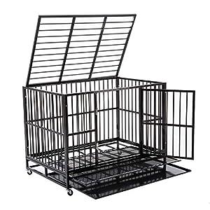 8. Sliverlake Dog Cage Crate Kennel