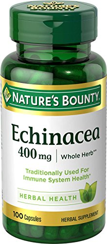 Nature's Bounty Echinacea, 400mg., 100 capsules