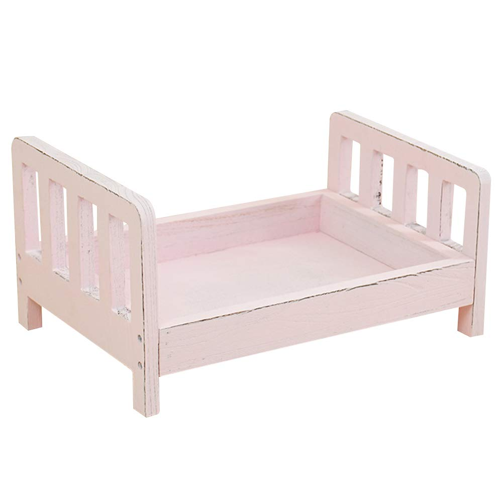 White d Bed Posing Detachable Sofa Studio Props Baby Photography Basket Newborn Photo Shoot Crib Accessories Gift Background Infant