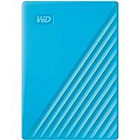 Western Digital My Passport 4TB USB 2.0 Portable External Hard Drive (Blue)