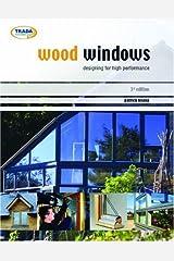 Aluminum windows.