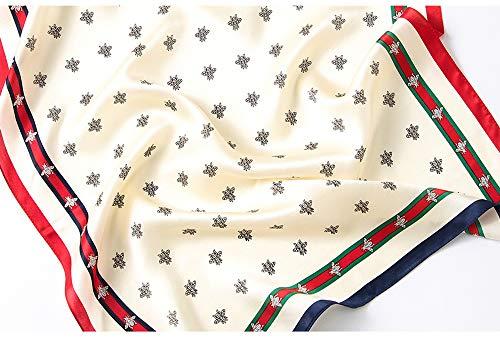 Foulard Con In Donna 15 Scialle Hijab Raso Stampato Quadrata Floreale Sciarpa Lungo Grande Testa Moda Musulmano 8 187wnp
