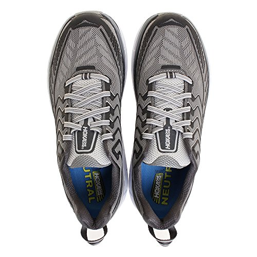 Hoka One One Mens Clifton 4 Large Chaussure De Course, Griffin / Microchip, 11 Ee