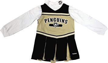 on sale 4c07e 0c4eb Pittsburgh Penguins Reebok NHL Toddler Girls Cheerleader Outfit