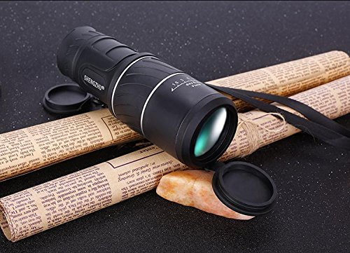 Intsun® tragbare 30x52 fernglas zoom monocular teleskop green film
