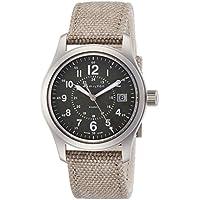 Hamilton Khaki Field Olive Geen Dial Mens Quartz Watch H68201963