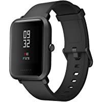 Amazfit Bip Xiaomi Smartwatch Montre Connectée Bracelet GPS de Running Tracker d'activité Cardio Version Internationale Noir