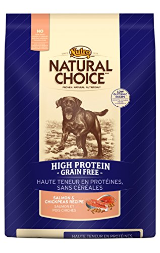 NATURAL CHOICE Salmon and Chickpeas High Protein Grain-Free Recipe, 4 lbs.