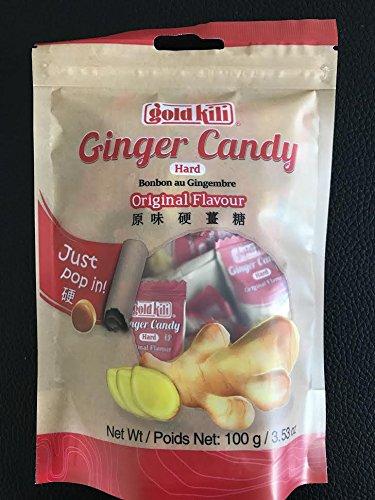 Gild Kili Hard Ginger Candy 100G  3 53Oz  Pack Of 3  Original
