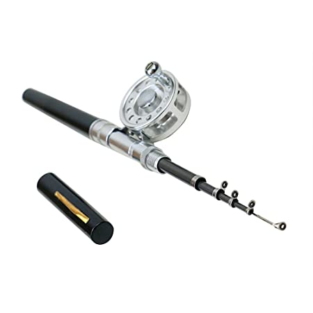 Meiyu Mini Telescopic Rod Combo Travel Mate Fishing Pen Portable Float Fishing Rod Centerpin Reel Pocket Pen Fishing Combo